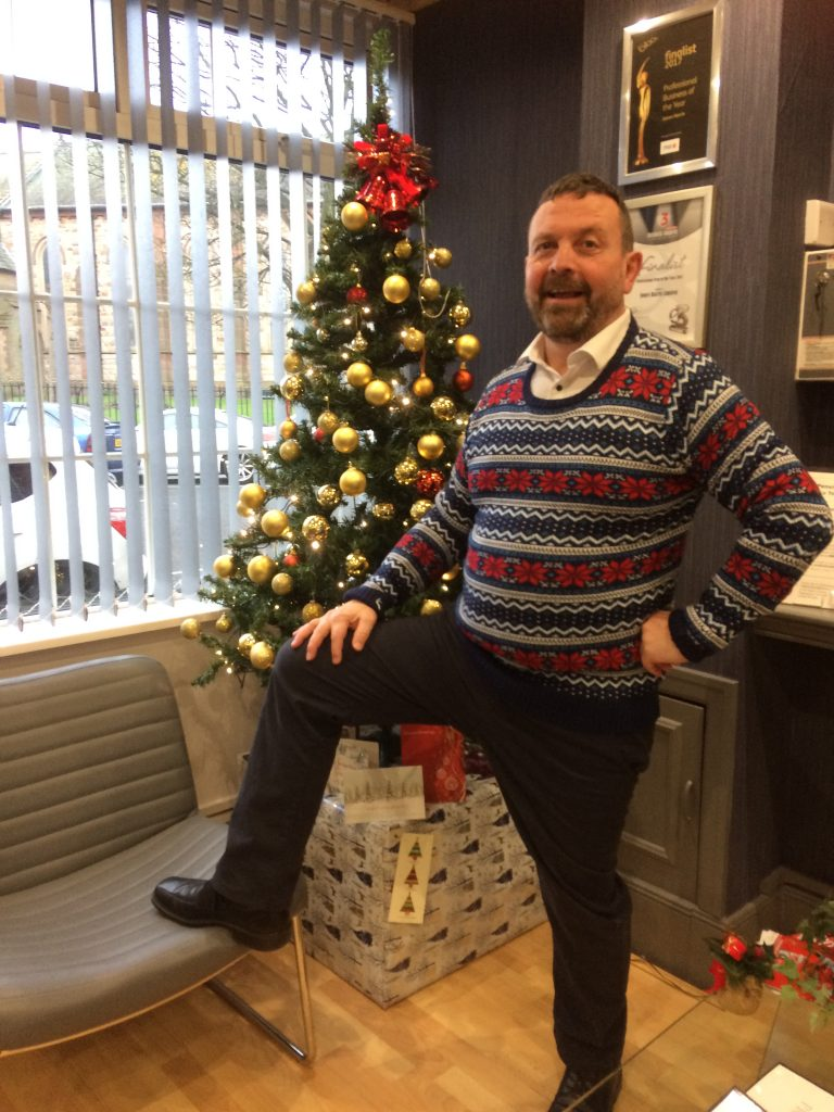 Andy - Christmas Jumpers at Jones Harris