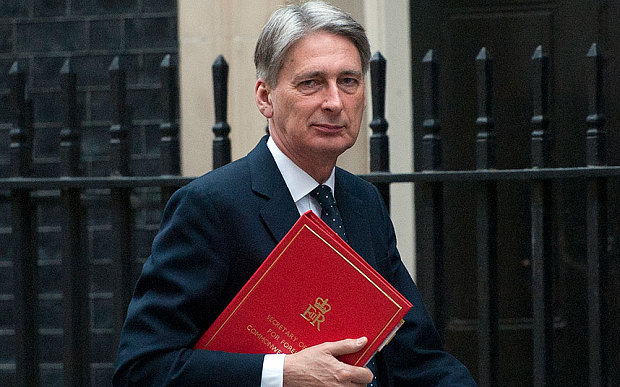 Philip Hammond, Chancellor of Exchequer