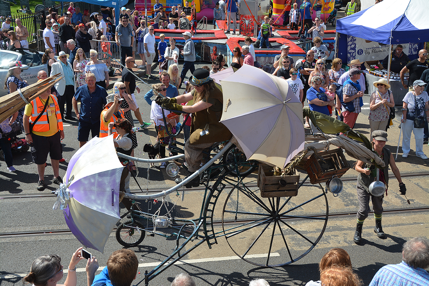 SpareParts Festival, as pioneered by Tram Sunday, is to receive a three-year investment thanks to Arts Council England.