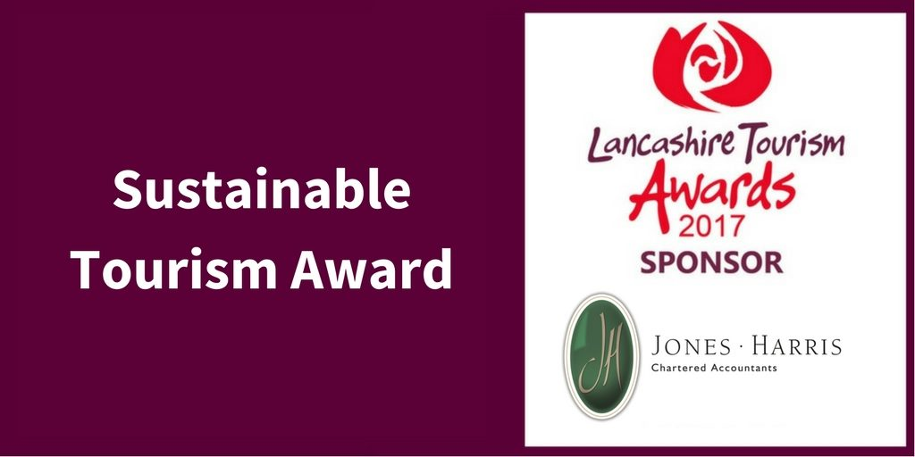 Jones Harris will be sponsoring Lancashire Tourism Awards 2017
