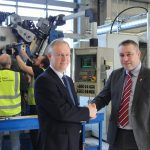 Steve Steve Williams, Force Technology with Cllr Mark Smith