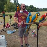 Our local parrot man