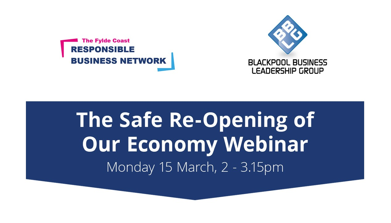 Safely Reopening Our Economy Webinar