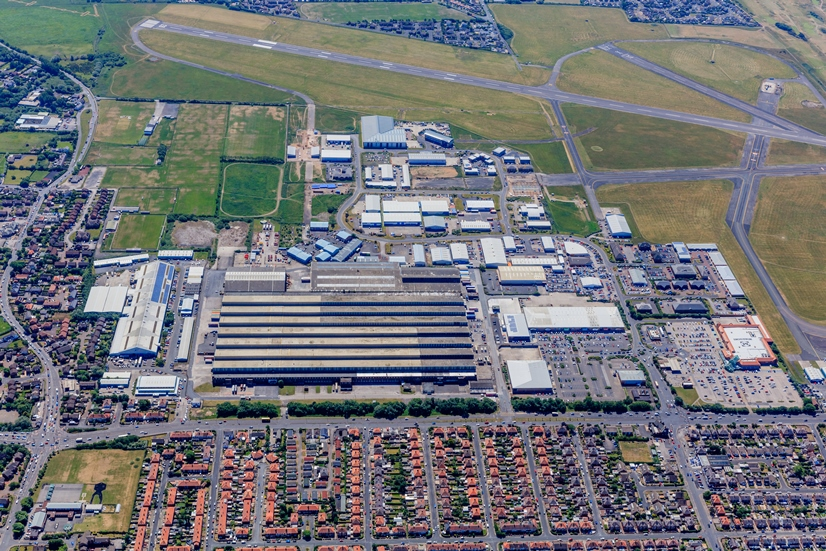 Blackpool Airport site - one of Fylde Coast Enterprise Zones