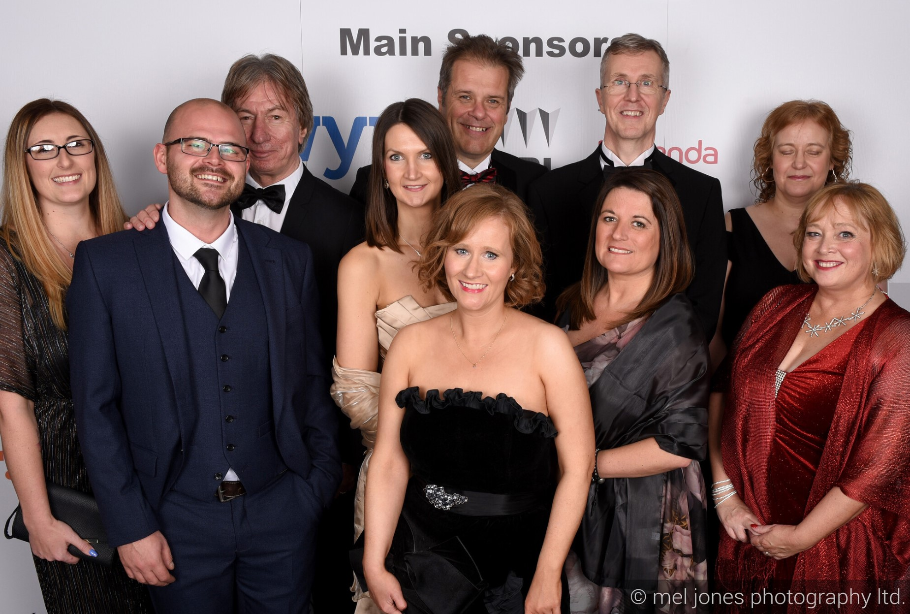 The Jones Harris team at Wyre Business Awards