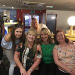 Jones Harris Ten Pin Bowling team having fun and games