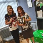 Macmillan coffee morning at Jones Harris