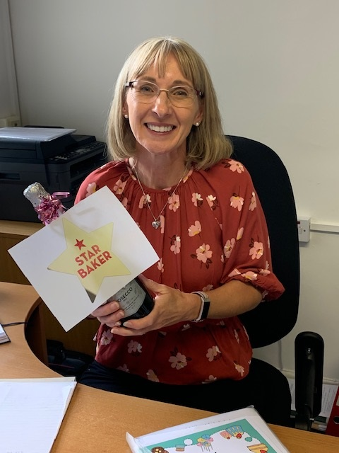 Pam Maddock, Tax Technical Manager and Star Baker!