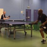 Table Tennis Win for Jones Harris