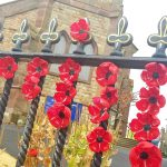 Poppies appearing in Fleetwood